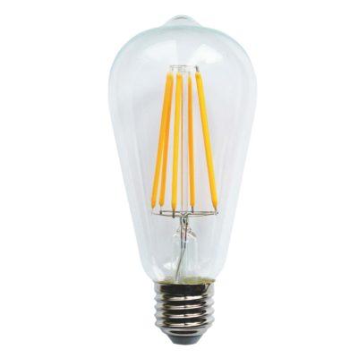 LED-lamp VINTAGE ST64-LL, 6 W / 2200 K / E27