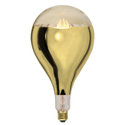 LED-lamp INDUSTRIAL VINTAGE GOLD A165, 8 W / 2000 K / E27