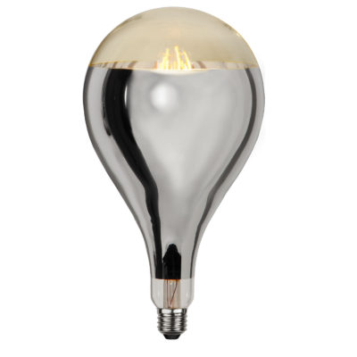 LED-lamp INDUSTRIAL VINTAGE SILVER A165, 8 W / 2000 K / E27