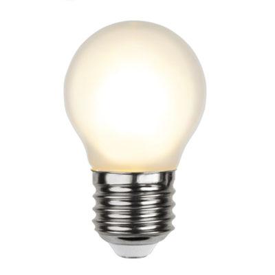 LED-lamp valguskettidele G45 FROSTED, 1,5 W / 2700 K / E27