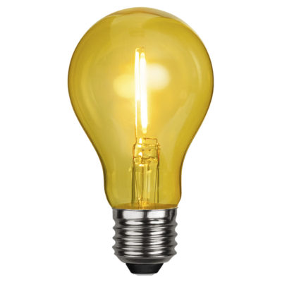 LED-lamp DECORATION PARTY YELLOW, 1 W / E27