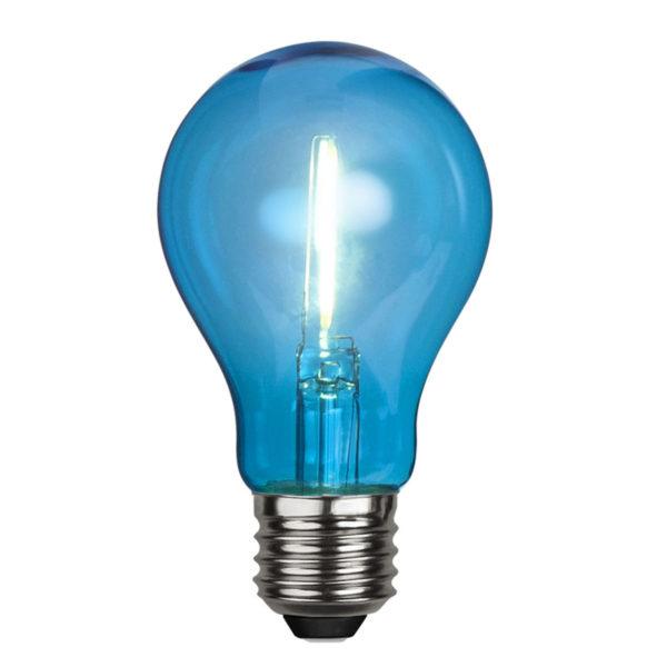 LED-lamp DECORATION PARTY BLUE, 1 W / E27