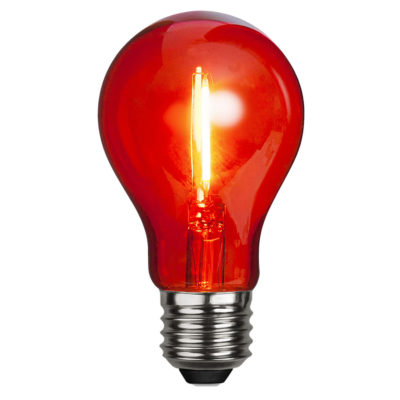 LED-lamp DECORATION PARTY RED, 1 W / E27