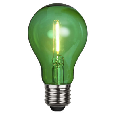 LED-lamp DECORATION PARTY GREEN, 1 W / E27
