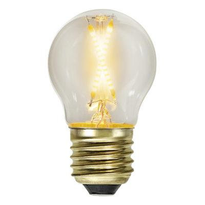 LED-lamp valguskettidele G45 EXTRA SOFT GLOW, 0,5W / 2100 K / E27