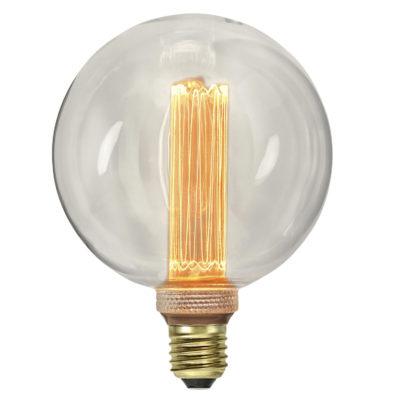 LED-lamp E27 G125 NEW GENERATION CLASSICS, 2,5 W / 2000 K / E27