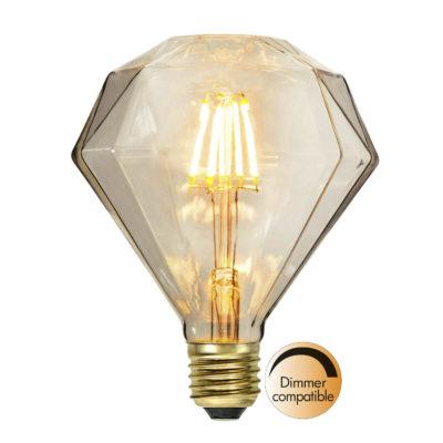LED-lamp DIAMOND SOFT GLOW, 1,65 W / 2200 K / E27