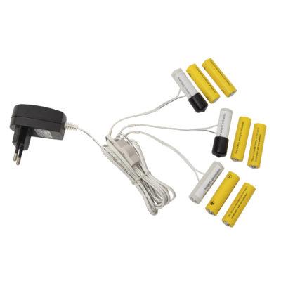 Patarei adapter, AA, 3 x 3