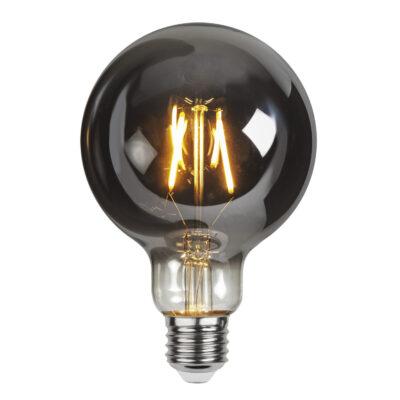 LED-lamp SMOKE G95, 1,8 W / 2100 K / E27