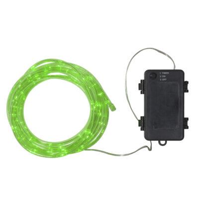 5 m valguskett patareidega TUBY GREEN