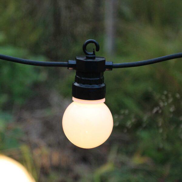 3 m ühendatav valguskett G45 PARTY LIGHTS