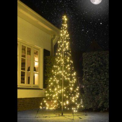 3 m vilkuvate pirnidega jõulupuu FAIRYBELL 320LED TWINKLE