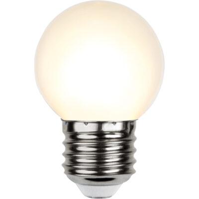 LED-lamp valguskettidele G45, 1 W / 2700 K / E27