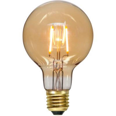 LED-lamp valguskettidele G80 PLAIN AMBER, 0,75 W / 2000 K / E27