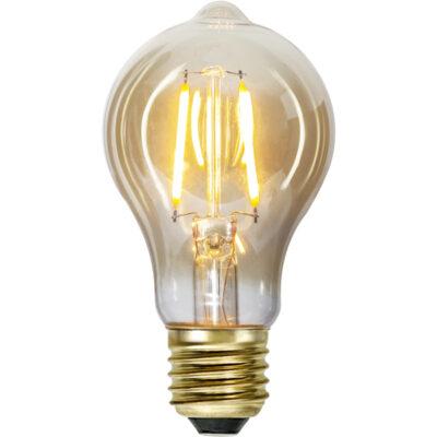 LED-lamp valguskettidele TA60 PLAIN AMBER, 0,75 W / 2000 K / E27