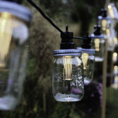 3 m ühendatav valguskett MASON JAR