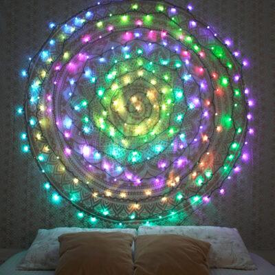 20 m nutikas LED-pirnidega valguskett TWINKLY