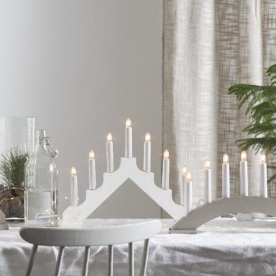 Jõulukaunistus aknale ADAGIO WHITE