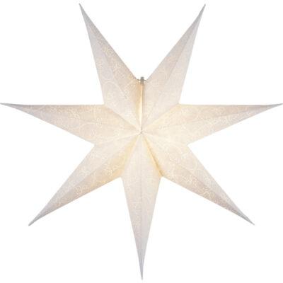 Paberist täheke DECORUS WHITE 63CM
