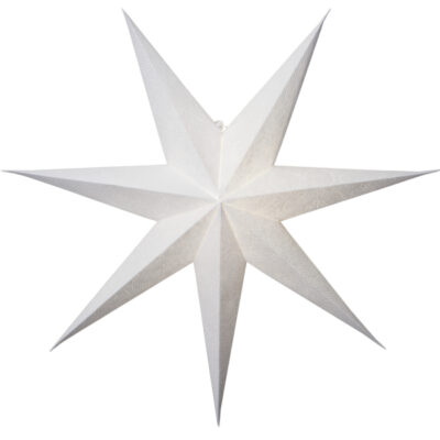 Paberist täheke DECORUS WHITE 75CM